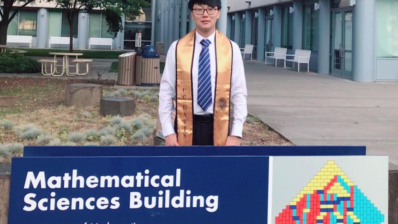 Hao Wu Graduation Photo